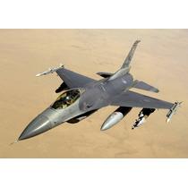 Planta Aeromodelo Jato F-16 Falcon 1/6 - Frete Grátis