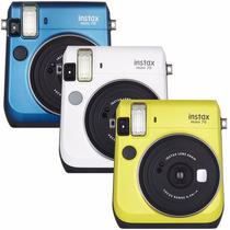 Câmera Digital Instantânea Fujifilm Instax Mini 70 Nova