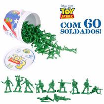 Balde Com 60 Soldados Toy Story Original Disney Toyng