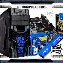 Kit H81 + Processador Intel I5 4440 + 4gb Hyperx + Gabinete