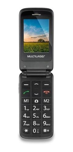 Multilaser Flip Vita Dual Sim 32 Mb Dourado/preto 32 Mb Ram