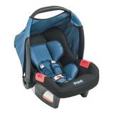 Bebê Conforto Burigotto  Touring Evolution Se Preto/azul
