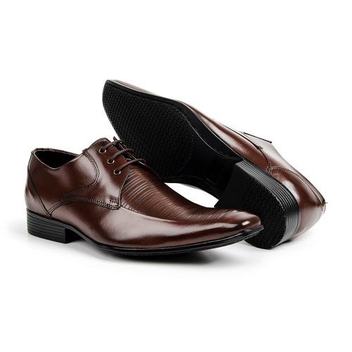 99ef14f5f Sapato Estilo Italiano Bigioni 100% Couro Legítimo Bico Fino