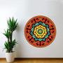 Adesivo De Parede Mandala 19 - Médio 60x60cm