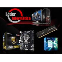 Kit Placa Mãe + Processador I5 6400+ Memoria 8gb