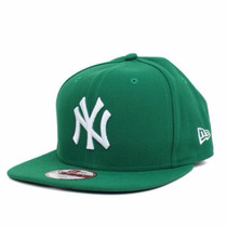 Boné New York Yankees Verde Original Fit Snapback Aba Reta