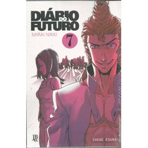 Diario Do Futuro Mirai Nikki Manga #07 - Jbc - Bonellihq
