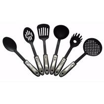 Jogo De Utensílios De Cozinha Com 7 Peças Rack