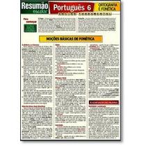Resumão Escolar: Português 6 - Ortografia E Fonética