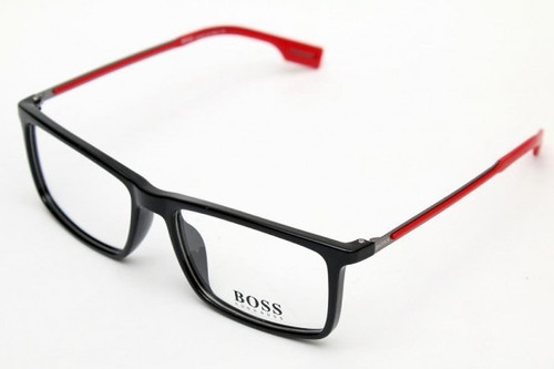Armação Óculos De Grau Hugo Boss 0419 Leve Titanio 54 17 140 5773f9b7a2