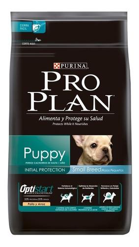 Ração Pro Plan Puppy Cachorro Filhote Raça Pequena Frango/arroz 1kg