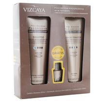 Shampoo+condicionad Pos Progressiva Vizcaya 200ml+tratamento