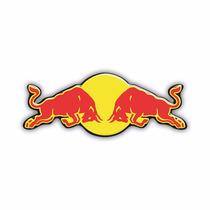 Adesivo Sticker Automotivo Red Bull Resinado
