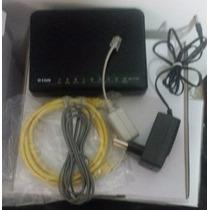 Modem Adsl + Roteador Wireless D-link Dsl-2730r 150mbps 20un