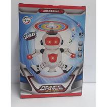 Robô De Brinquedo Infantil 06 Dança Com Luzes E Sons