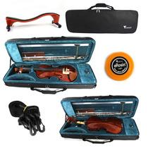 Violino Eagle 4/4 Ve441 + Case Extra Luxo +brinde +espaleira