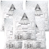 Cloreto De Cálcio Granulado Mv Química 5und X 1kg = 5kg