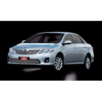 Kit Sobre Grade Cromo Aço Inox Toyota Corolla 14 15
