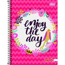 Caderno 1 Matéria 96 Fls Linha Mais+ Feminino Enjoy 2016