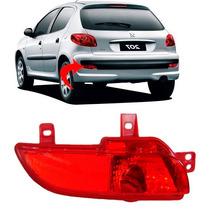 Lanterna Neblina Parachoque Peugeot 207 Hatch Lado Esquerdo