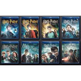 Coletânea Com Os 8 Filmes Do Harry Potter - Envio Imediato!