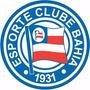 Adesivo Esporte Clube Bahia 20cm - Frete Grátis