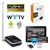 Receptor Tv Digital Full Hd 1920p X 1080p Celular Tablet