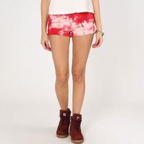Short Jeans Feminino Miss Moon Tye Dye - Novo C/ Nf!!!