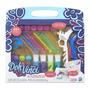 Play Doh Vinci Kit Styler Top Platinum +20 Acessorios Hasbro