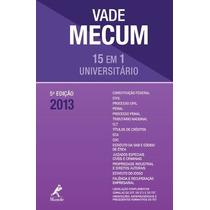 Vade Mecum Universitário Compacto 2013 ¿ 5ª Edição 15 Em 1