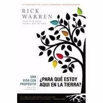 Una Vida Con Proposito De Rick Warren
