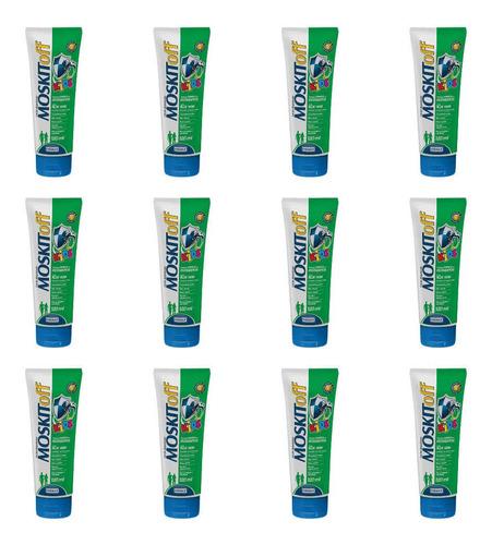 Moskitoff Kids Repelente C/ Aloe Vera 120ml (kit C/12)