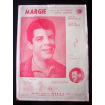 Partitura Antiga Música Margie Acordeon