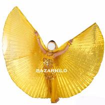 Veu Asas ,wings De Isis Dourado Tamanho Infantil 95x360cm