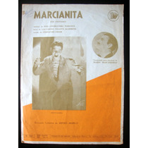 Partitura Antiga Música Marcianita Acordeon