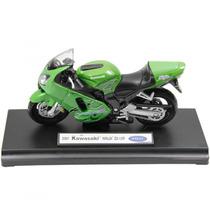 Miniatura Moto Kawasaki Ninja Zx-r12 Escala 1:18