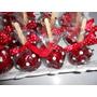 Maçãs Do Amor De Chocolate Personalizadas 12 Unidades