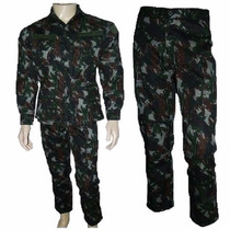 Farda Tática Camuflada Uniforme Militar Exército Brasileiro