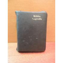 Livro Bíblia Sagrada Antigo Novo Testamento Capa Couro Peq