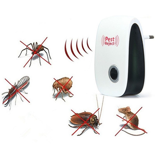 5 Repelente Eletrônico Ultrasônico Pest Reject