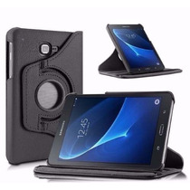 Case Capa De Couro Ecológico Para Tablet Samsung Galaxy T580