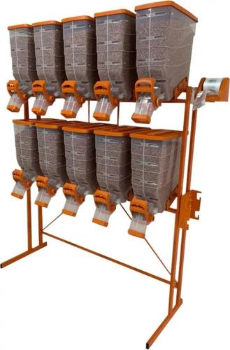 Promoção Dispenser - Porta Ração  10 X 40 - Durapets