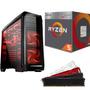 Pc Cpu Gamer Amd Ryzen 5 2400g   16gb Ddr4   A320m   Hd 1tb