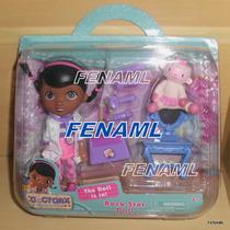 Boneca Doutora Brinquedos Kit C/ Lambie, Gelinho Ou Felpudo