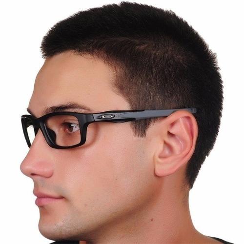 ac8ab9ecc Óculos Armação De Grau Oakley Crosslink Masculino Feminino à venda ...