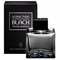 Perfume Seduction In Black Antonio Banderas 200ml Original