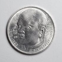 Linda Moeda Prata Da Alemanha Comemorativa 5 Marcos Ano 1978