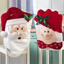 Capa Encosto De Cadeira Natal