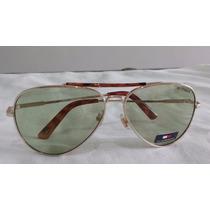 Óculos De Sol Modelo Aviador Tommy Hilfiger - Importado