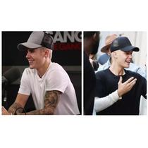 2 Bonés Justin Bieber Nada Wear Trucker Cap Pronta Entrega !